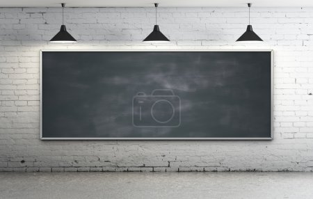 blackboard in room