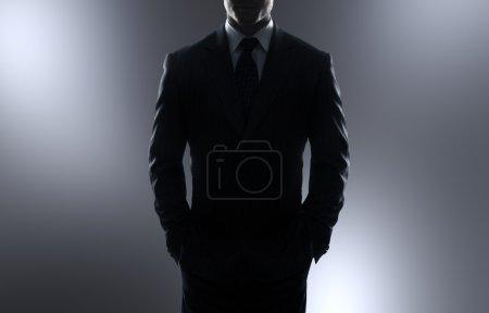 businessman in coa