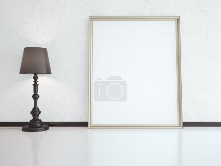 lamp and frame