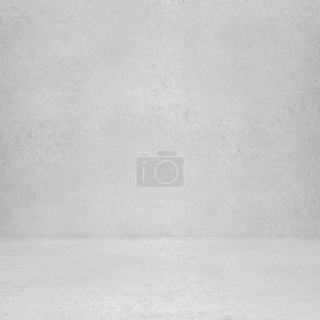 Photo for High resolution white concrete wall and floor - Royalty Free Image