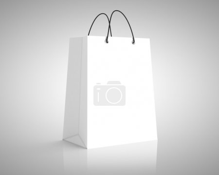 Photo for White paper package. close up - Royalty Free Image