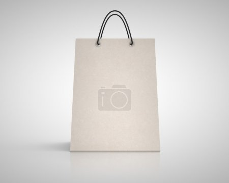 Photo for Brown paper package. close up - Royalty Free Image