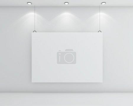 cardboard on wall