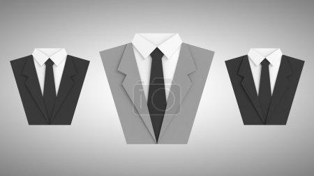 trois signes de costume