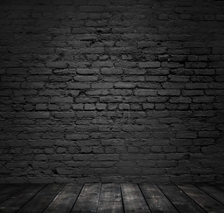 Photo for Brick room background, close up - Royalty Free Image