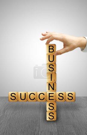 crossword success of business