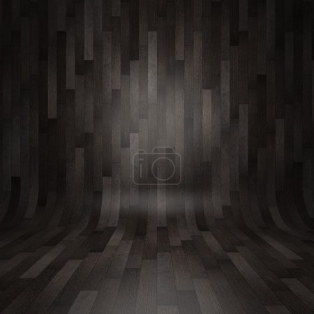 Photo for Gray wooden parquet backgrounds - Royalty Free Image