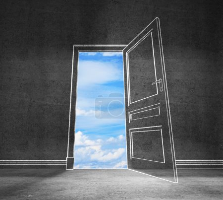 Photo for Big door to sky - Royalty Free Image