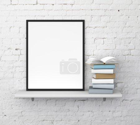 shelf with frame