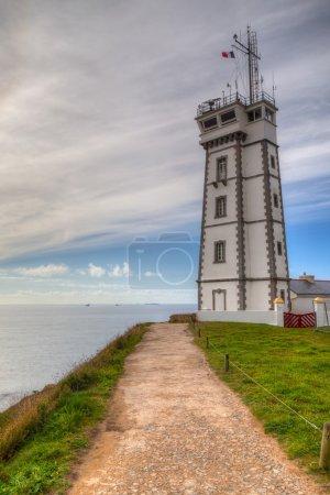 On the coast, Pointe de Saint Mathieu, Brittany, France