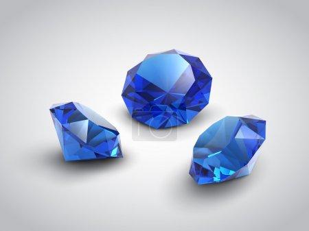 Sapphire gems