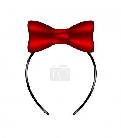 Headband with bow