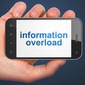 Informační koncepce: informační přetížení na smartphone
