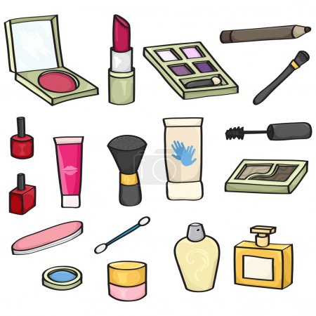 Cartoon Cosmetics Set