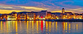 Colorful evening in Town of Vodice