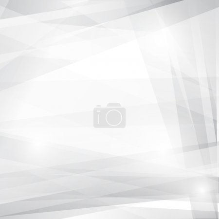 Illustration for Grey abstract background for design. Vector EPS10 - Royalty Free Image