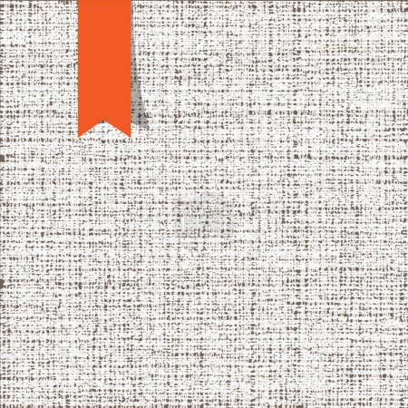 Illustration for Fabric texture. Vector background - Royalty Free Image