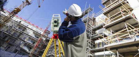 Surveyor with instrument