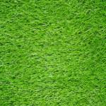 Artificial Green Grass Field Top View Texture...
