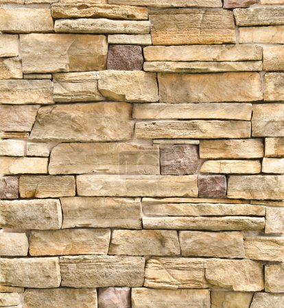 pattern of stone wall surface