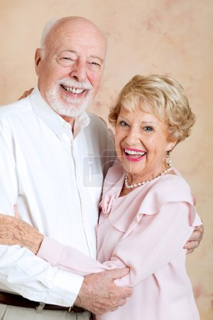 Senior Couple Happily Married
