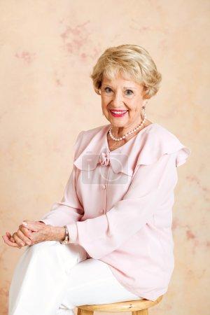 Portrait of Elegant Senior Lady