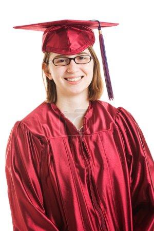 Smiling Female Graduate