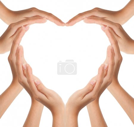 Photo for Hands make heart shape - Royalty Free Image