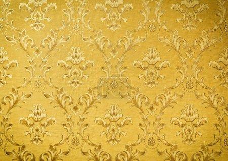 Foto de Lujo wallpape floral oro inconsútil - Imagen libre de derechos