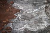 vintage sea painting