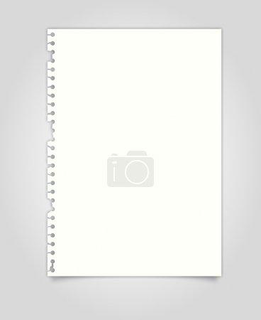 Illustration pour Vecteur de papier déchiré - image libre de droit