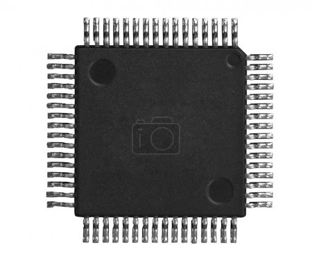 Photo for Electronic chip - Royalty Free Image