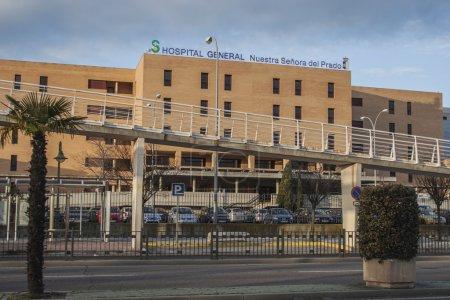 Photo pour Hôpital général virgen del prado, talavera de la reina, toledo. - image libre de droit
