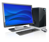 Desktop PC computer workstation