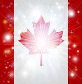 Kanadská vlajka pozadí