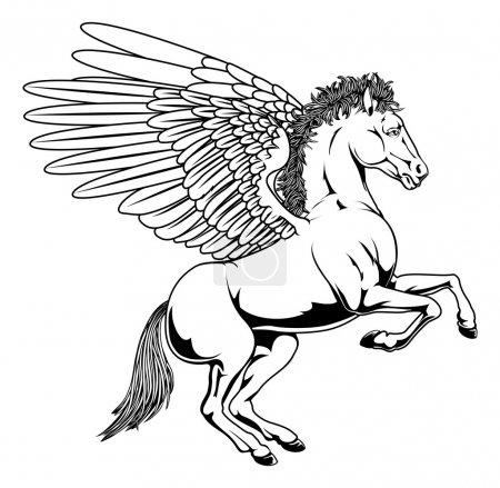 Pegasus illustration
