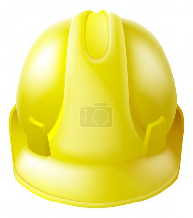 Yellow Hard Hat Safety Helmet