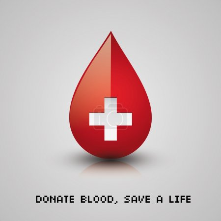 Donate blood, save a life...