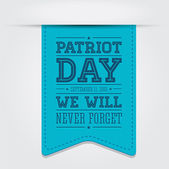 American flag words patriot day september 11 2001