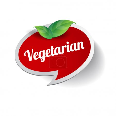Vegetarian food label
