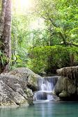 Erawan Waterfall, deep forest Waterfall in Kanchanabur