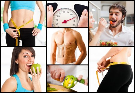 Photo for Healthy nutrition and weight loss - Royalty Free Image