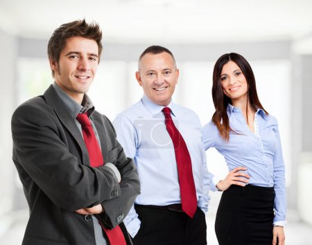 Foto de Grupo de gente sonriente de negocios - Imagen libre de derechos
