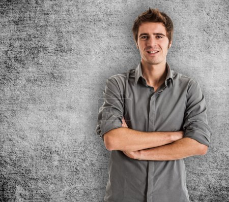Photo for Portrait of an handsome young man - Royalty Free Image