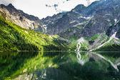 Sea eye Tatras in summer
