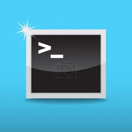 icône de démarrage du terminal