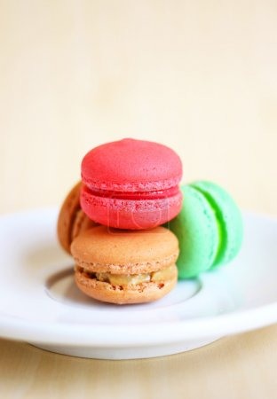 Photo for Tasty colorful macaroons - Royalty Free Image