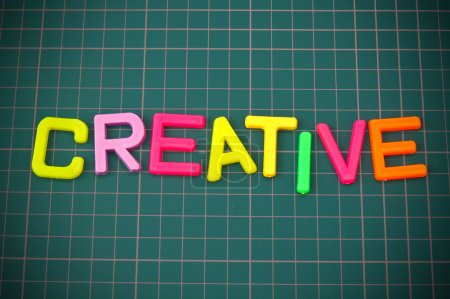 Creative in toy letters