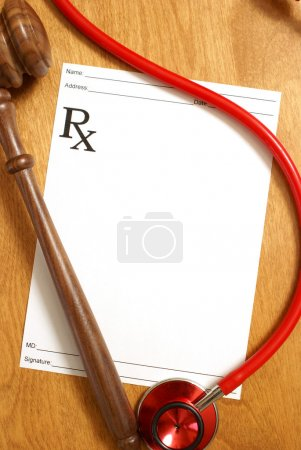A few items to focus attention on medicine and law...