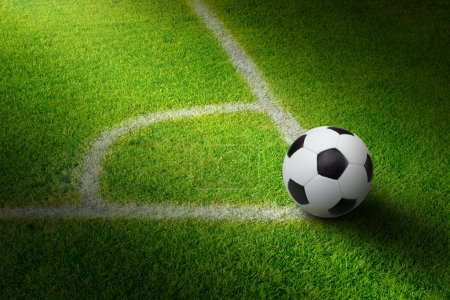 Soccer ball, stadium